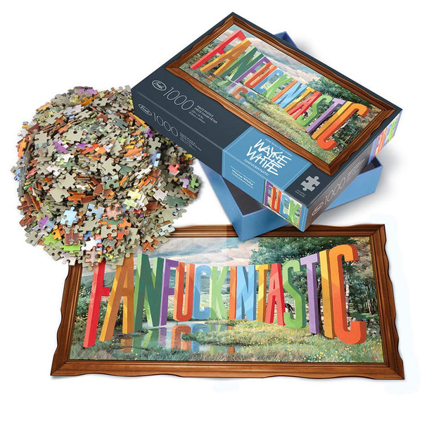 1000 Piece Puzzle Fanfuckintastic