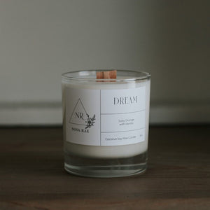 Wood Wick Candle Dream