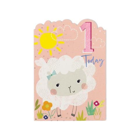 1 Today Sheep Birthday Card