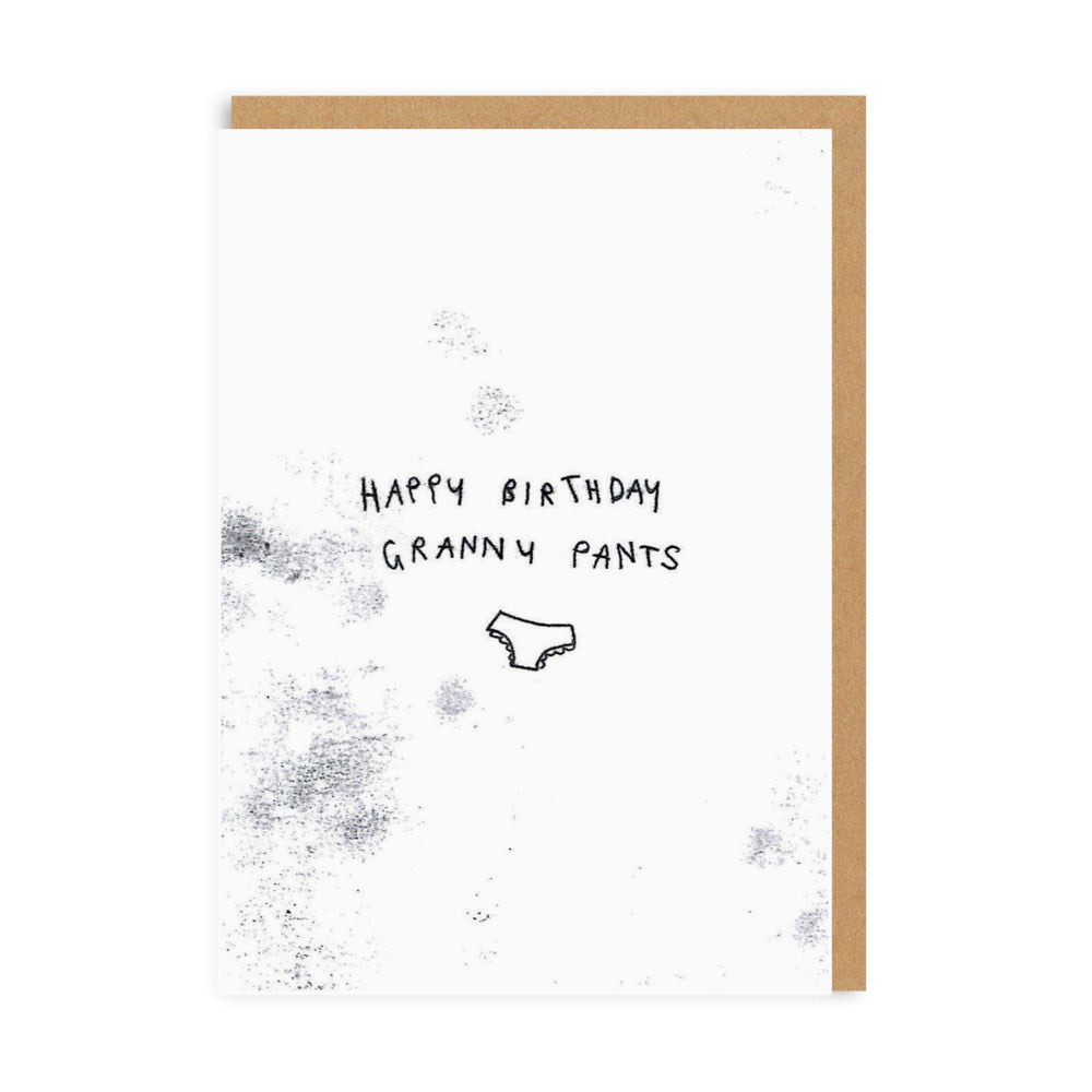 Granny Pants Birthday Card