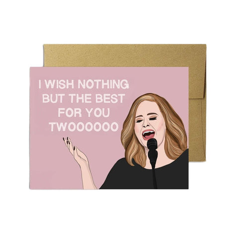 Adele Wedding Card