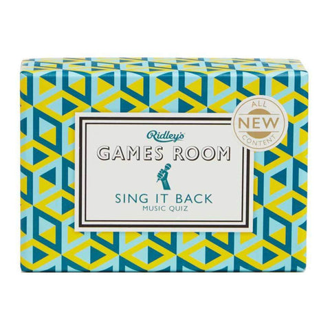 Sing It Back Quiz Game
