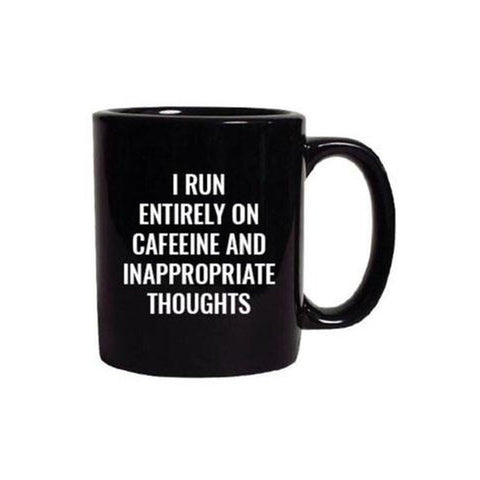 Inappropriate Thoughts Mug