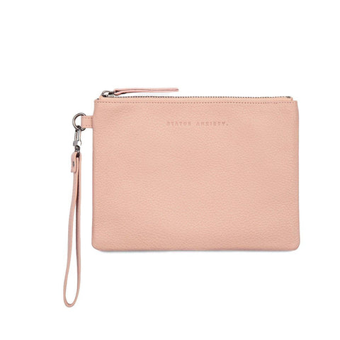 Fixation Wristlet Dusty Pink