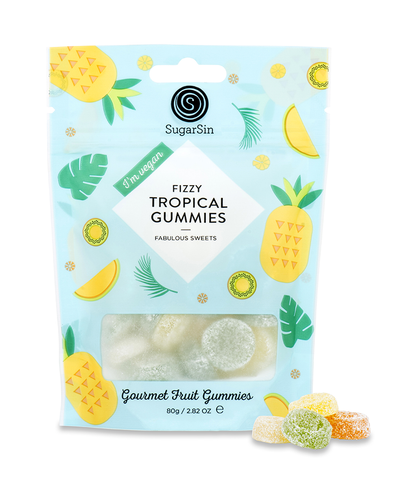 Fizzy Tropical Gummies