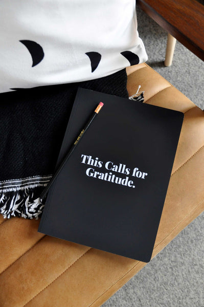 This Calls For Gratitude Dot Grid Journal