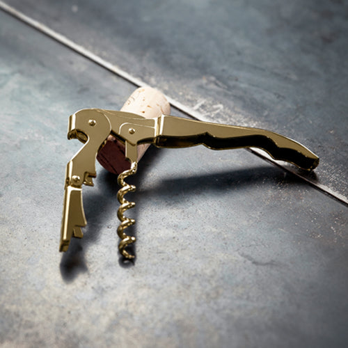 Corkscrew 24K Gold Plated