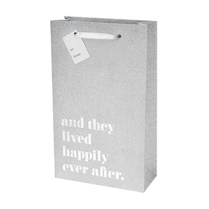 Happily Ever After Double Wine Bag