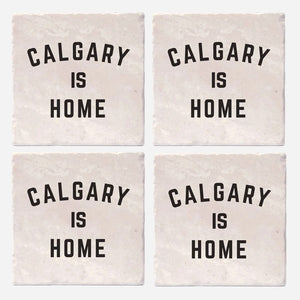 Calgary Is Home Coaster Set