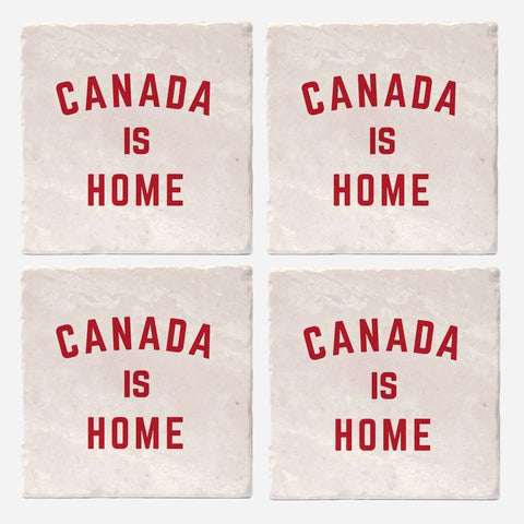 Coaster Set Canada Is Home