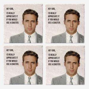 Hey Girl Coaster Set