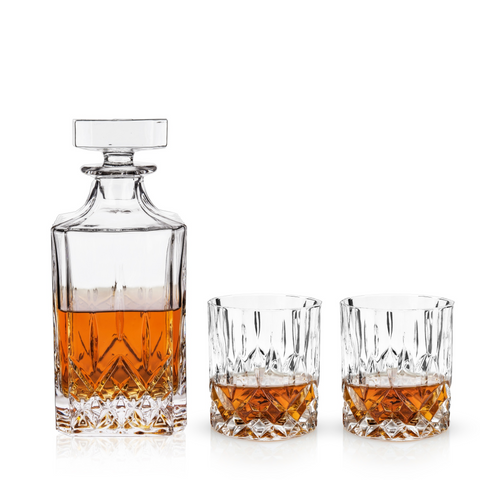 Decanter and Tumbler Set