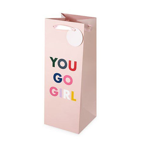 You Go Girl Wine Bag