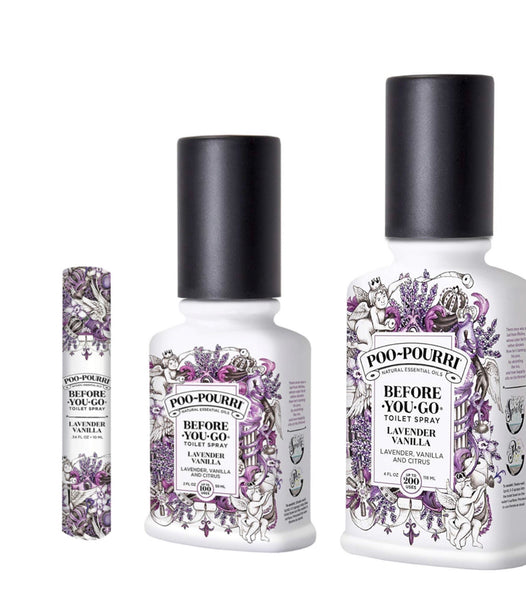 Lavender Vanilla Bathroom Spray 10 ml
