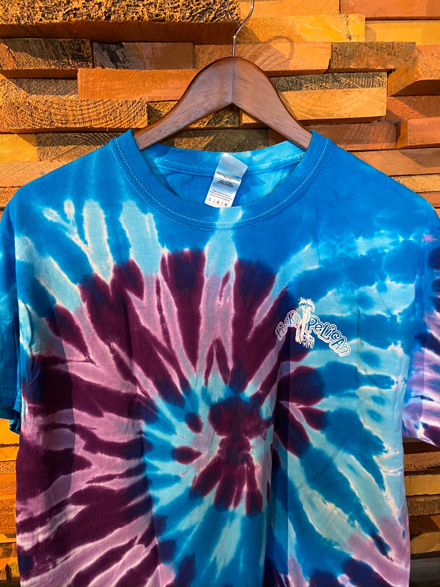 'Get Funked Up' Purple Blue Dream - Unisex Tie-Dye T-Shirt