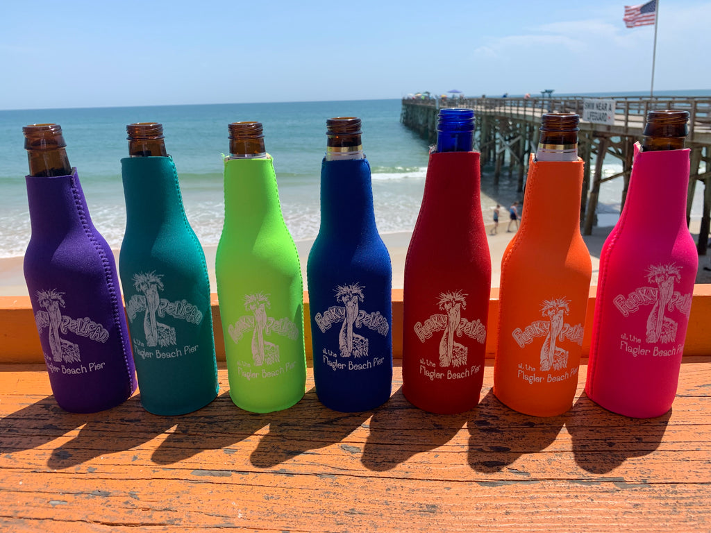 Funky Bottle Zipper Koozie