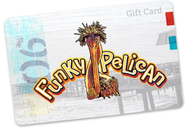 Funky Pelican Gift Cards