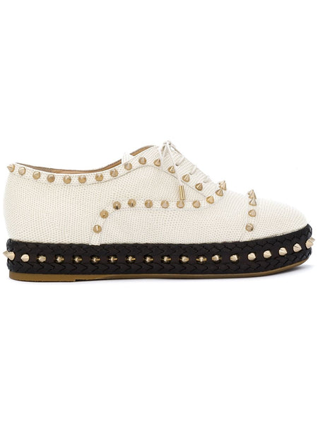 Charlotte Olympia Studded platform shoes