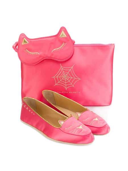 Charlotte Olympia Cat Nap slippers