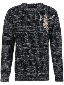 Dancing skeleton sweater