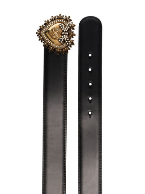 Devotion heart-buckle belt