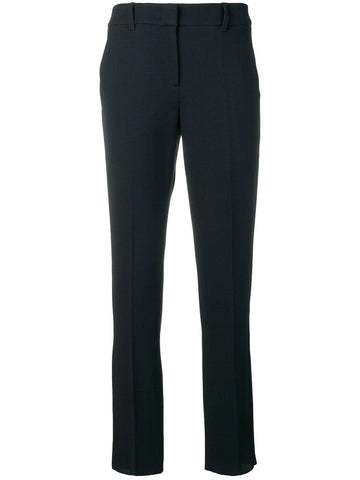 Slim fit tailored trousers