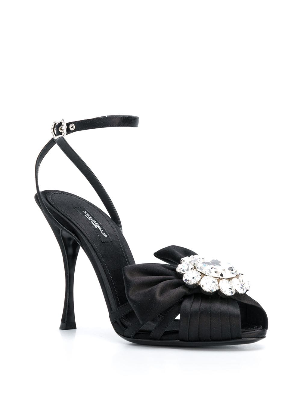 Bejeweled stiletto sandals