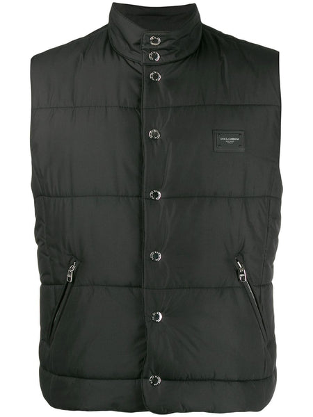 Button padded gilet