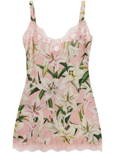 Dolce & Gabbana Floral slip dress