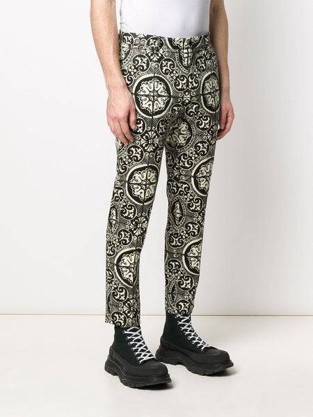 Dolce & Gabbana patterned tailored trousers