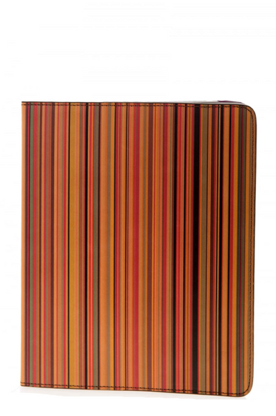 Paul Smith stripe print iPad case