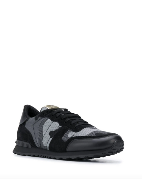 Valentino Camouflage Rockrunner low-top sneakers