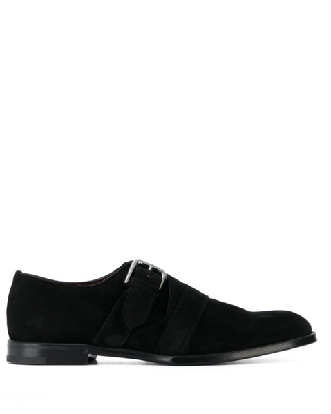 Dolce & Gabbana Suede monk shoes