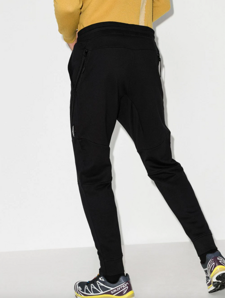 Lens-pocket track pants
