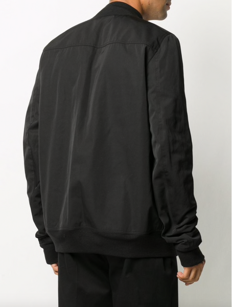 Rick Owens Abstract print bomber jacket