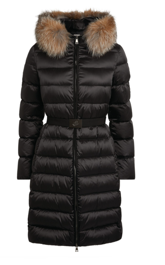 Moncler Tinuv belted padded coat