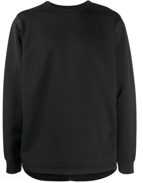 Stone Island fleece-panel sweatshirt