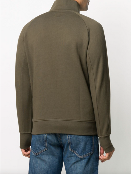 C.P. Company short zip jumper