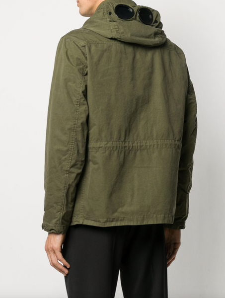 C.P. Company Google-lens hooded jacket