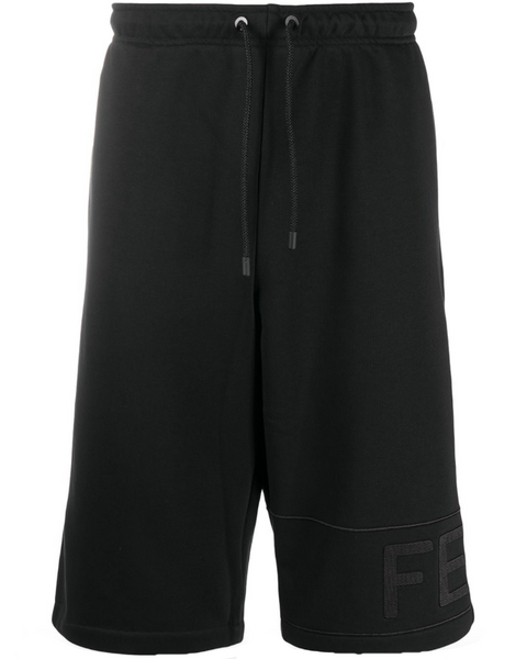 Fendi FF knee-length track shorts