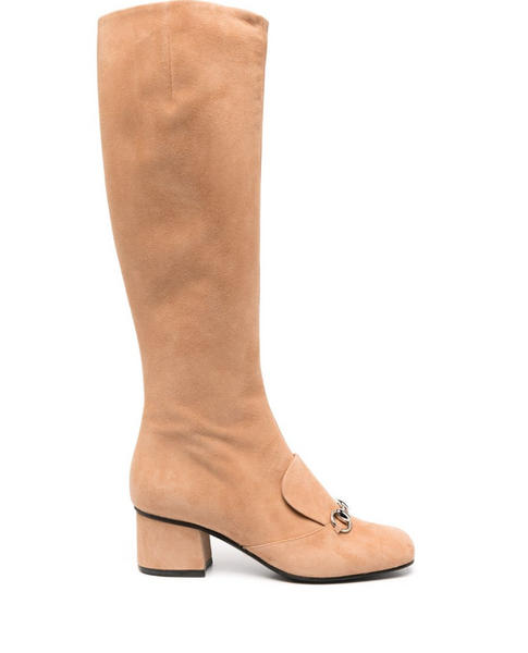 Gucci Horsebit-detail knee-length boots