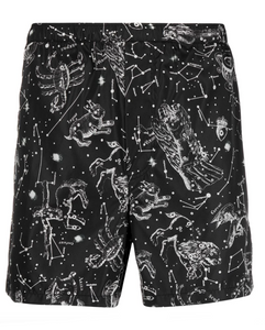 Valentino zodiac map shorts