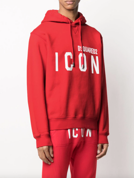 Dsquared2 Icon logo print hoodie