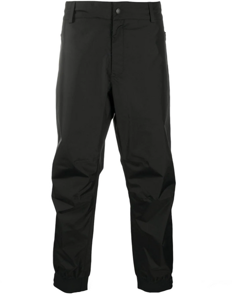 Moncler technical fabric straight leg trousers