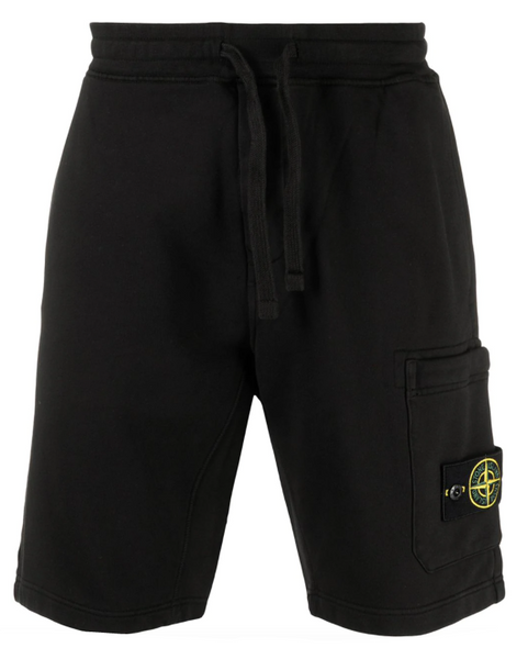 Stone Island logo patch shorts