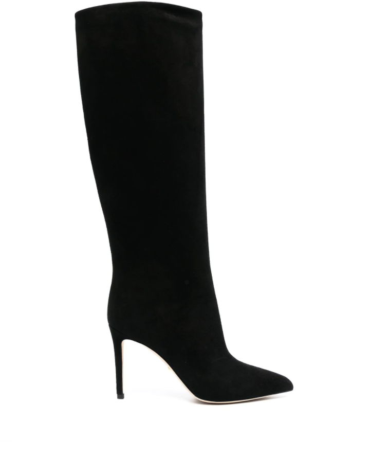 Gucci pointed-toe high-heel boots