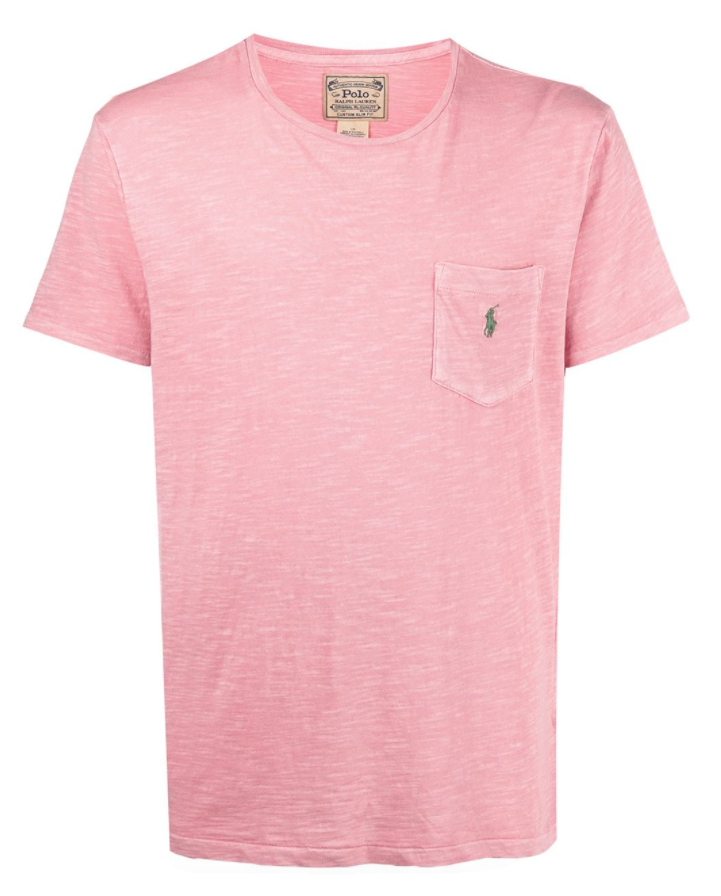 Polo Ralph Lauren logo chest-pocket T-shirt