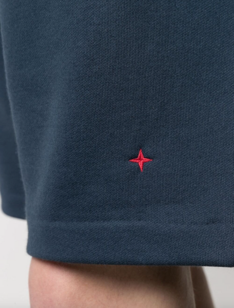 Stone Island embroidered-logo shorts