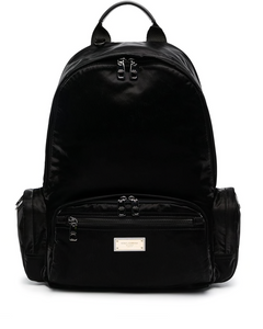 Dolce & Gabbana logo-plaque backpack