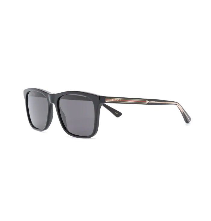 Rectangular framed sunglasses